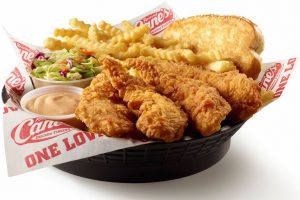 raising cane's nutrition